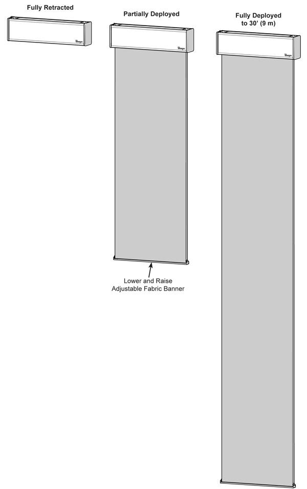 Transform Acoustical Banner Sizes