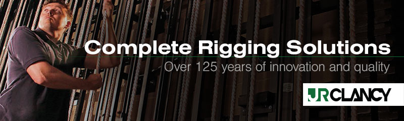 Complete Rigging Solutions - Over 125 years of innovation and quality - J.R. Clancy