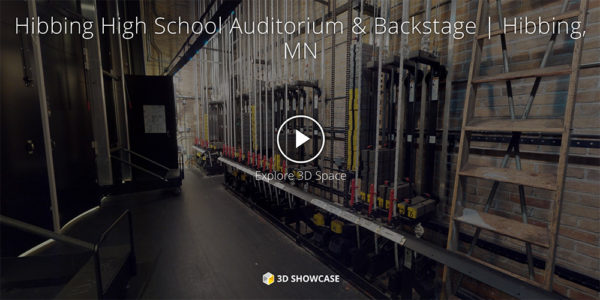 Hibbing High School Auditorium & Backstage