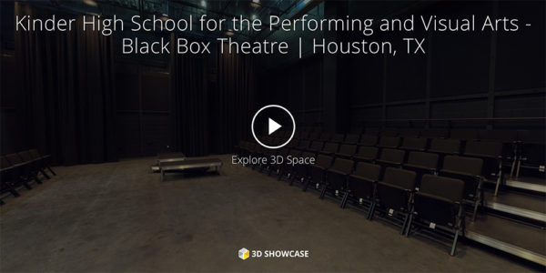 Kinder High School for the Performing and Visual Arts- Black Box Theatre