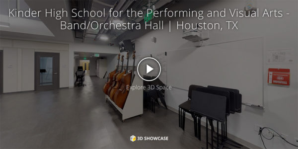 Kinder High School for the Performing and Visual Arts - Band/Orchestra