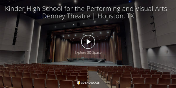 Kinder High School for the Performing and Visual Arts - Denney Theatre | Houston, TX