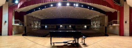 Valdosta Piano on stage
