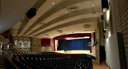 The Transcend® Active Acoustic System in VSU's Whitehead Auditorium.
