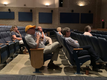 ICFAD workshop attendees seeing – and hearing – virtual acoustics in action