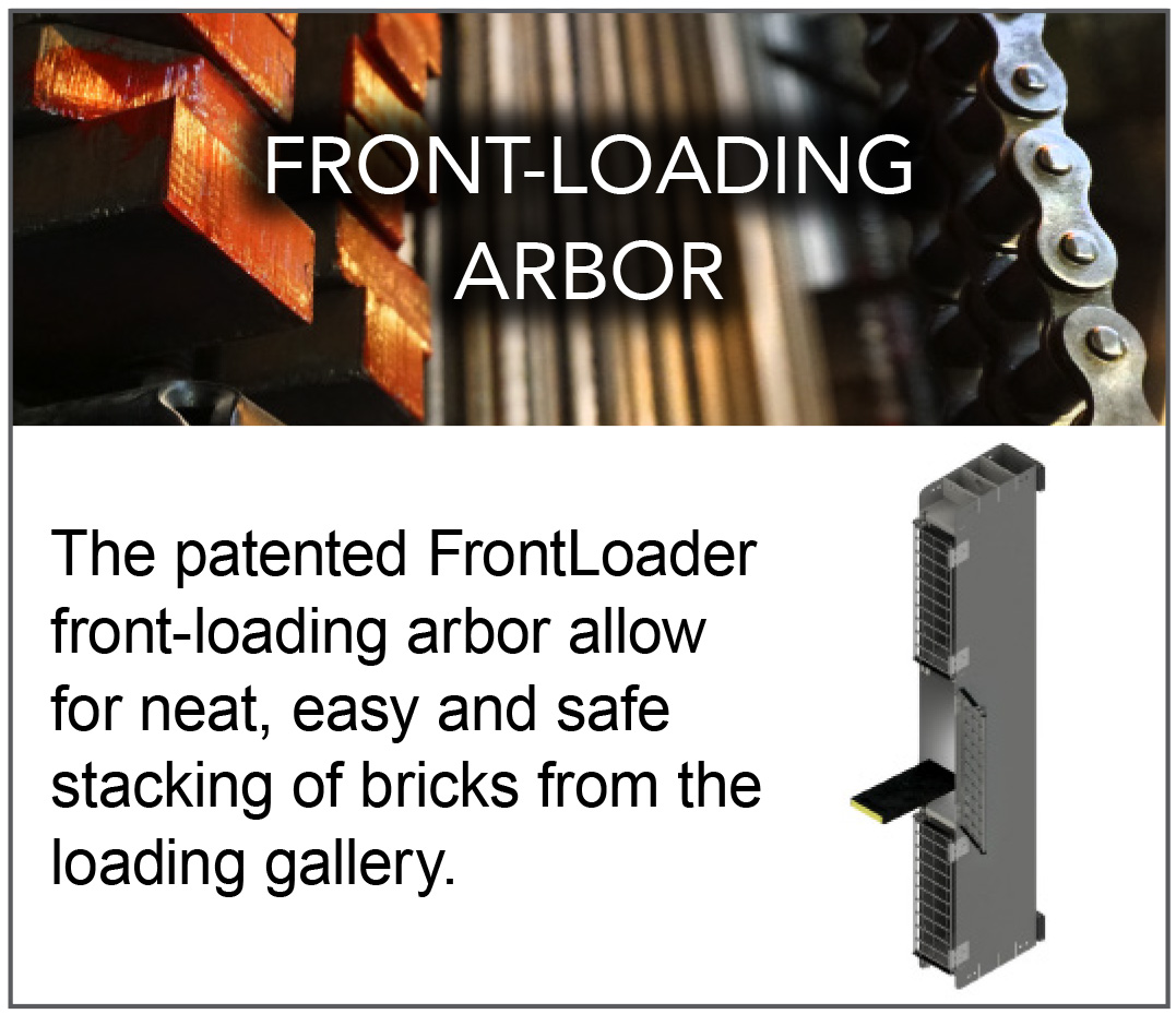 FRONT-LOADING ARBOR