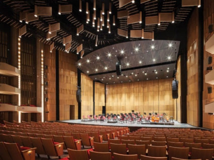 National Arts Centre's custom acoustical shell, our largest at the time