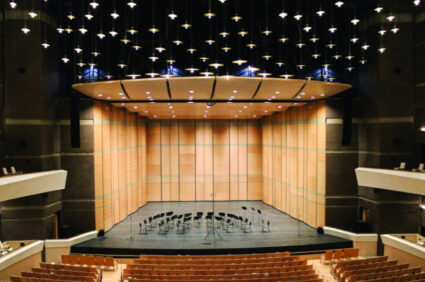The new Helen DeVitt Jones Main Theater.