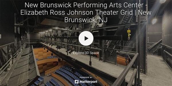 - New Brunswick Performing Arts Center -Elizabeth Ross Johnson Theater