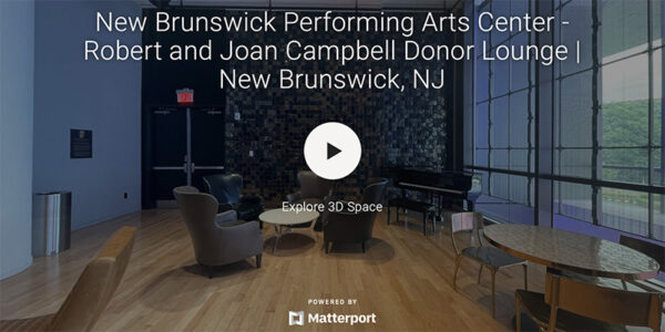 New Brunswick Performing Arts Center -Robert and Joan Campbell Donor Lounge